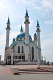 Moschea di Qolsharif. La Russia, Kazan Fotografia Stock