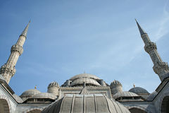 Moschea di Sehzade (principe) (Costantinopoli, Turchia) Immagini Stock Libere da Diritti
