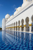 Moschea di Sheikh Zayed all'Abu Dhabi Fotografia Stock