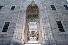 Moschea di Suleimania fotografie stock