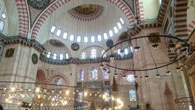 moschea di suleyman fotografia stock