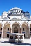Moschea di Suleymaniye Fotografia Stock