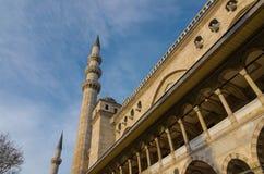 Moschea di Suleymaniye Fotografie Stock Libere da Diritti