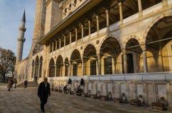 Moschea di Suleymaniye Fotografia Stock Libera da Diritti