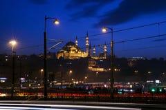 Moschea di Suleymaniye a Costantinopoli Immagini Stock
