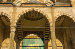 Moschea di Suleymaniye, Costantinopoli Immagine Stock