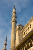 Moschea di Suleymaniye, Costantinopoli Fotografie Stock Libere da Diritti