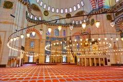Moschea di Suleymaniye a Costantinopoli Turchia Immagine Stock