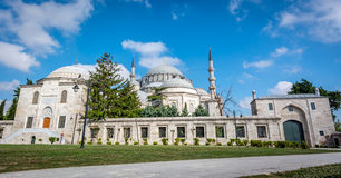 Moschea di Suleymaniye a Costantinopoli, Turchia Immagini Stock