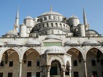 Moschea di Sultan Ahmet a Costantinopoli Fotografia Stock
