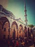 Moschea di Sultan Suleyman, Costantinopoli fotografia stock libera da diritti