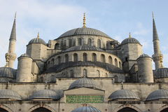 Moschea di Sultanahmet Immagini Stock Libere da Diritti