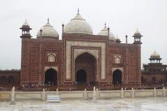 Moschea di Taj Mahal Agra India fotografia stock