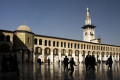 Moschea di Umayyad a Damasco, Siria Fotografia Stock