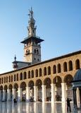 Moschea di Umayyad a Damasco Siria Fotografie Stock Libere da Diritti