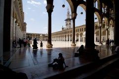Moschea di Umayyad (grande moschea di Damasco) Immagine Stock Libera da Diritti