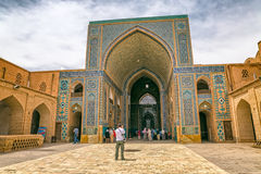 Moschea di Yame di Yazd Immagini Stock