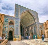 Moschea di Yame di Yazd Fotografia Stock Libera da Diritti
