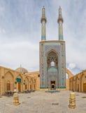 Moschea di Yame in Yazd Fotografie Stock Libere da Diritti