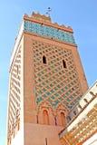 Moschea di Yazid di Al di Moulay a Marrakesh Fotografie Stock Libere da Diritti