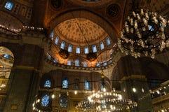 Moschea di Yeni Camii, Costantinopoli, Turchia Fotografia Stock Libera da Diritti