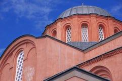 Moschea di Zeyrek, la precedente chiesa di Cristo Pantokrator a Costantinopoli moderna Fotografia Stock Libera da Diritti
