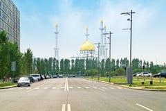 Moschea diNur-Astana fotografie stock