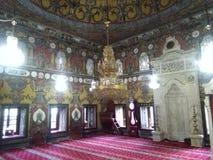 Moschea dipinta nella città 2017 di Tetovo fotografia stock libera da diritti