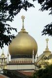 Moschea dorata Immagine Stock