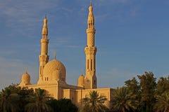 Moschea Dubai di Jumeirah Fotografia Stock