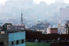 Moschea e chiesa nell'egitto fotografie stock libere da diritti