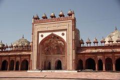Moschea in Fatehpur Sikri, India Fotografie Stock