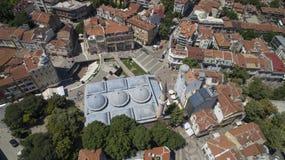 Moschea Filippopoli, Bulgaria di Dzhumaya, il 23 ottobre 2018 immagine stock libera da diritti