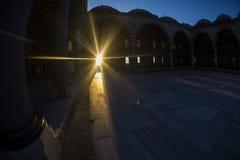 Moschea Fisheye di Selimiye Fotografia Stock