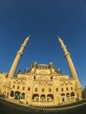 Moschea Fisheye di Selimiye fotografia stock libera da diritti