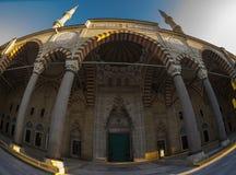 Moschea Fisheye di Selimiye immagine stock