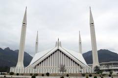 Moschea Islamabad di Faisal Fotografia Stock Libera da Diritti