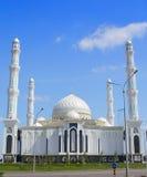 Moschea islamica a Astana. Il Kazakistan. fotografia stock libera da diritti
