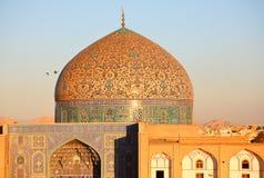 Moschea a Ispahan, Iran Fotografia Stock Libera da Diritti