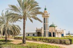 Moschea Jamia in Abu Dhabi, Emirati Arabi Uniti immagini stock libere da diritti