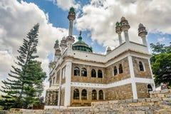 Moschea Jamia nella città di Nairobi, Kenya fotografia stock