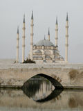 Moschea, l'Adana/Turchia Fotografie Stock Libere da Diritti