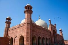 Moschea Lahore di Badshahi fotografie stock libere da diritti
