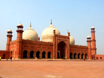 Moschea Lahore di Badshahi Fotografia Stock Libera da Diritti