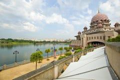 Moschea Malesia di Putrajaya Immagini Stock