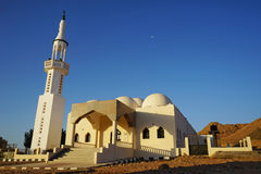 Moschea in montagne Immagine Stock Libera da Diritti
