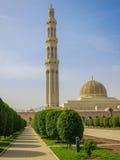 Moschea in Muscat Immagini Stock