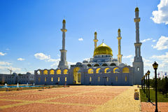 Moschea musulmana immagini stock