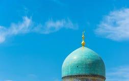 Moschea musulmana in Taškent, l'Uzbekistan della cupola Fotografia Stock Libera da Diritti