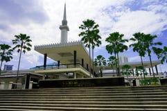 Moschea nazionale della Malesia Immagine Stock Libera da Diritti